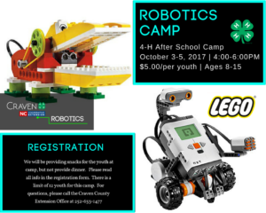 Cover photo for After School Robotics Camp!