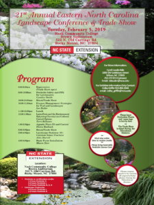 Cover photo for 21st Annual Eastern NC Landscape Conference and Tradeshow
