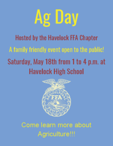 Cover photo for Havelock FFA Ag Day