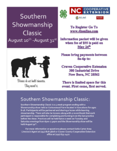 Cover photo for Southern Showmanship Classic - UPDATE!!