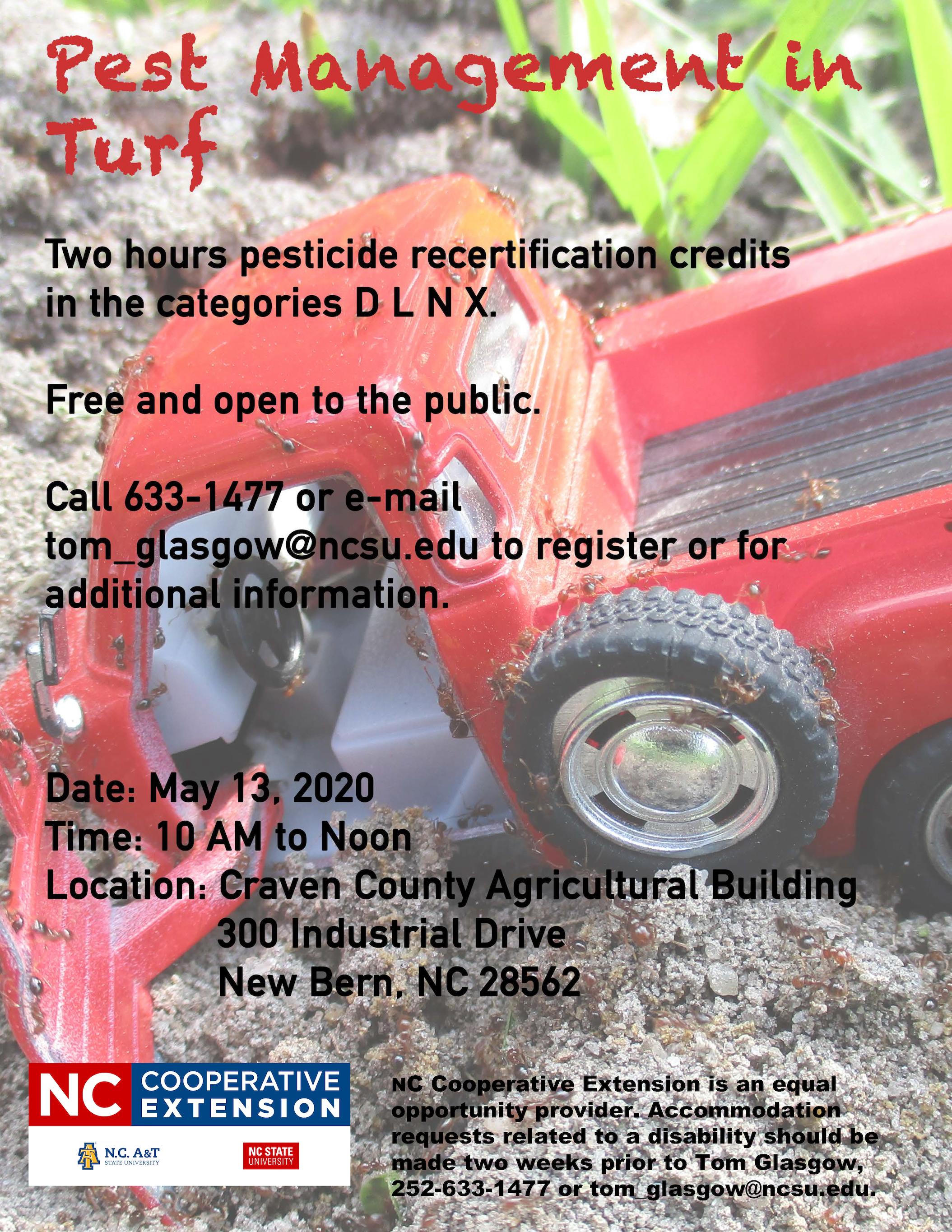 Pest Management in Turf flyer image