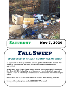 Cover photo for Fall Clean Sweep Event