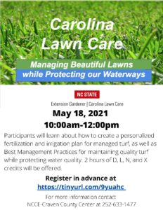 Cover photo for Carolina Lawn Care Program